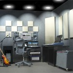 Primacoustic studio setup