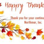 Northmar Thanksgiving Greeting 2018